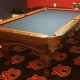 Custom Billiards Cloth and Two-Tone Felting and Rails