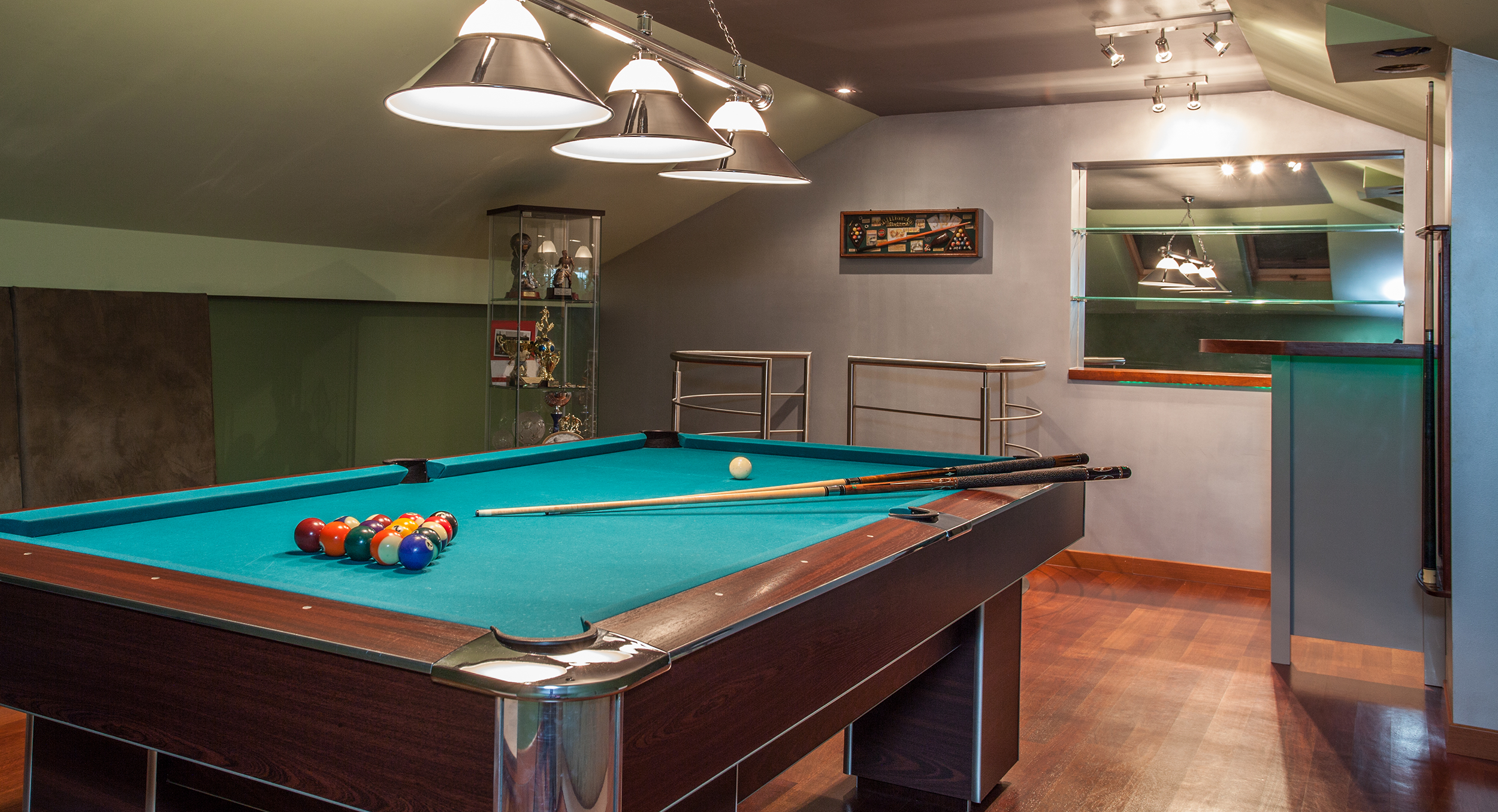 Pool Table Set Up Service Zoom In Read More